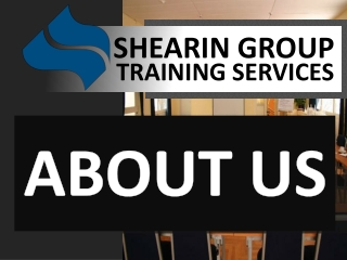 About Shearin Group Training Services