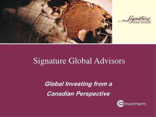 Signature Global Advisors