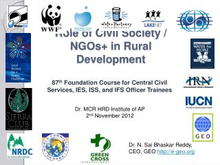 Role of Civil Society / NGOs+ in Rural Development