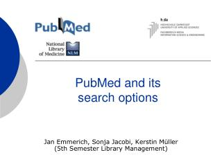 PubMed and its search options