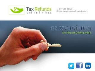nz tax refunds