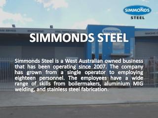 Simmonds Steel
