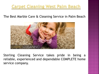 Marble Restoration West Palm Beach