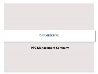 PPC Geeks - PPC Management Company New Jersey