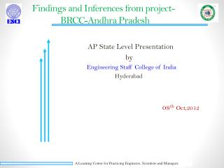 Findings and Inferences from project-               BRCC-Andhra Pradesh