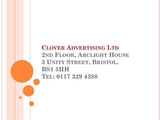 Clover Advertising Limited Bristol