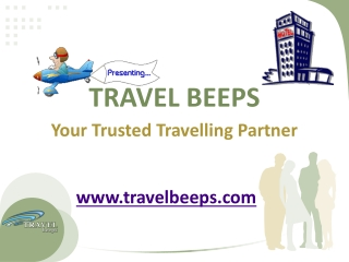 Travel Beeps-An online Mall for all your travel needs