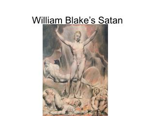 William Blake's Satan