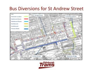 Bus Diversions for St Andrew Street