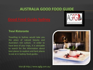 Visit Sydney Restaurants for the Best Dining in Australia