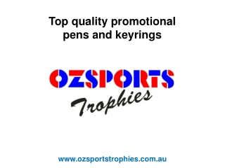 Promotional Pens and Keyrings Brisbane