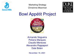 Bowl App é tit Project