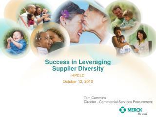 Success in Leveraging Supplier Diversity