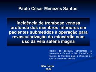 Paulo César Menezes Santos