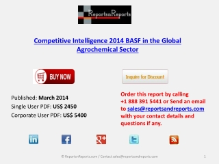 BASF in the Global Agrochemical Market Analysis