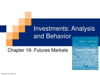 Investments: Analysis and Behavior