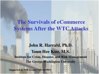 The Survivals of eCommerce Systems After the WTC Attacks
