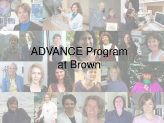 ADVANCE Program at Brown