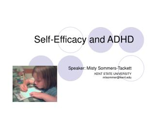 Self-Efficacy and ADHD