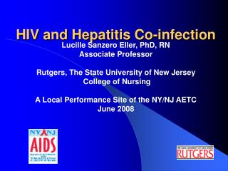 HIV and Hepatitis Co-infection