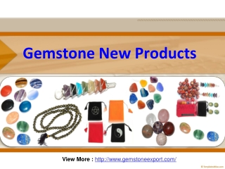 Wholesale Gemstone Supplier