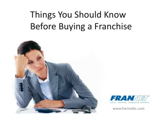 Franchising in Kansas City