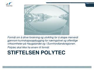 Stiftelsen Polytec