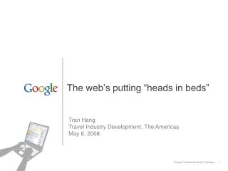 """The web's putting """"heads in beds"""""""