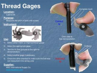 Thread Gages