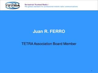 Juan R. FERRO