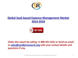 Global SaaS-based Expense Management Industry Analysis and F