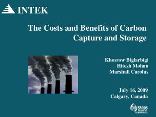 The Costs and Benefits of Carbon Capture and Storage