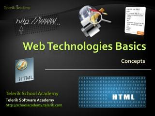Web Technologies Basics