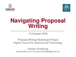 Navigating Proposal Writing