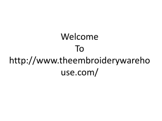 Sell Embroidery Machine | Liquidate Embroidery Equipment