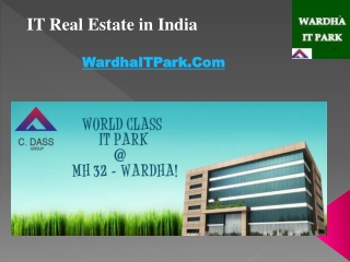 IT Real estate in India | Wardha IT Park