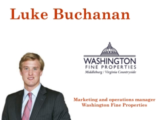 Luke Buchanan - Marketing and Operations Manager