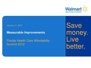 Measurable Improvements