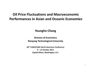 Oil Price Fluctuations and Macroeconomic Performances in Asian and Oceanic Economies