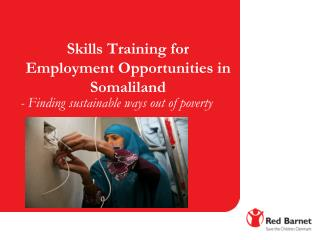 Skills Training for Employment Opportunities in Somaliland