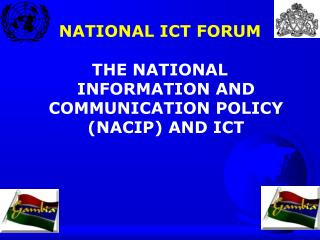 NATIONAL ICT FORUM