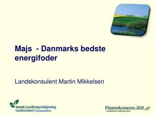 Majs - Danmarks bedste energifoder
