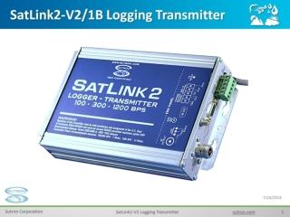 SatLink2-V2/1B Logging Transmitter