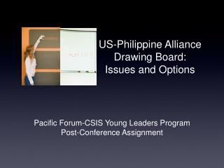 US-Philippine Alliance  Drawing Board: Issues and Options