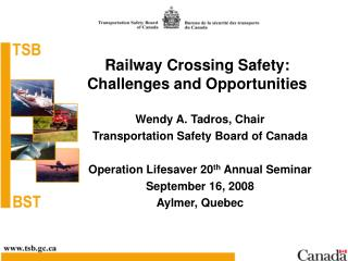 Railway Crossing Safety: Challenges and Opportunities