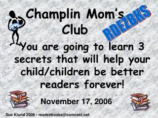 Champlin Mom's Club