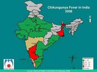 Source: National Health Profile-2008 (Provisional), CBHI