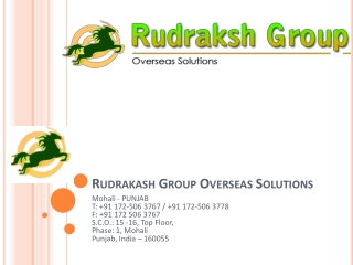 Rudraksh Group Overseas Solution
