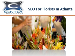 SEO For Florists In Atlanta