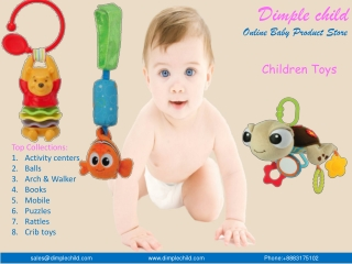 Buy Children toys online at dimplechild online store